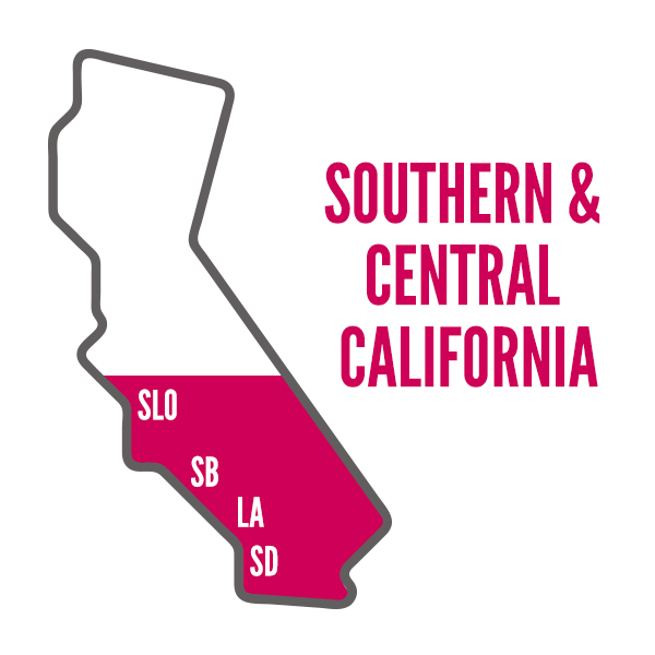 Southern & Central California